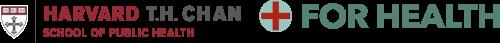 Harvard T.H. Chan & For Health Logos